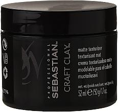 Парфюмерия и Козметика Моделираща глина за коса с матиращ ефект - Sebastian Professional Form Craft Clay Remoldable-Matte
