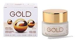 Парфюми, Парфюмерия, козметика Крем за лице - Diet Esthetic Gold Cream SPF15