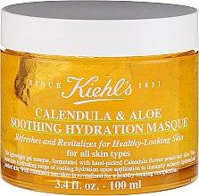 Парфюмерия и Козметика Успокояваща и хидратираща маска за лице с невен - Kiehl`s Calendula & Aloe Soothing Hydration Masque