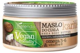 """Парфюми, Парфюмерия, козметика Масло за тяло """"Карите"""" - Bielenda Vegan Friendly Shea Body Butter"""