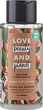 Парфюмерия и Козметика Хидратиращ шампоан с масло от шеа и сандалово дърво - Love Beauty&Planet Shea Butter & Sandalwood