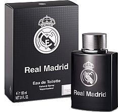 Парфюмерия и Козметика Air-Val International Real Madrid Black - Тоалетна вода