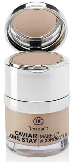 Фон дьо тен и коректор за лице - Dermacol Caviar Long Stay Make-Up & Corrector