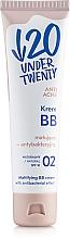 Парфюмерия и Козметика Матиращ ВВ крем - Under Twenty Anti Acne Matting Cream