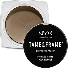 Парфюмерия и Козметика Помади за вежди - NYX Professional Makeup Tame & Frame Brow Pomade