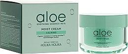 Парфюми, Парфюмерия, козметика Крем за лице с екстракт от алое вера - Holika Holika Aloe Soothing Essence 80% Moist Cream