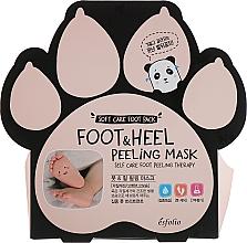 Парфюмерия и Козметика Ексфолиращи чорапи - Esfolio Foot & heel Peeling Mask
