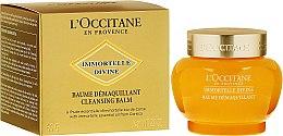 Парфюми, Парфюмерия, козметика Почистващ балсам за лице - L'Occitane Immortelle Divine Cleansing Balm