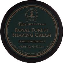 Парфюмерия и Козметика Крем за бръснене - Taylor of Old Bond Street Royal Forest