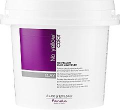 Парфюмерия и Козметика Изсветляваща паста за коса - Fanola No Yellow Clay Lightner