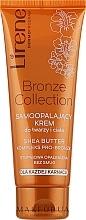 Парфюмерия и Козметика Крем-автобронзант за лице и тяло - Lirene Body Arabica Face & Body Cream