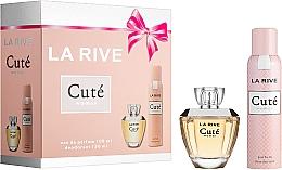 La Rive Cute Woman - Комплект (парф. вода/100ml + дезодорант/150ml) — снимка N1