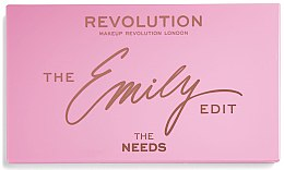 Парфюмерия и Козметика Палитра за грим - Makeup Revolution x The Emily Edit The Needs