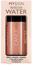 Парфюми, Парфюмерия, козметика Комплект гланцове за устни - Makeup Revolution My Sign Lip Gloss Collection (Air) (3 ml)