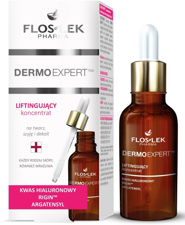 Лифтинг серум за лице, шия и деколте - Floslek Dermo Expert Lifting Serum