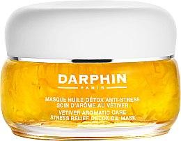 Парфюмерия и Козметика Детокс маска за лице с етерично масло от ветивер - Darphin Vetiver Aromatic Care Stress Relief Detox Oil Mask
