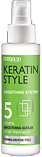 Парфюми, Парфюмерия, козметика Изглаждащ кератинов серум за коса - Prosalon Keratin Style Smoothing Serum
