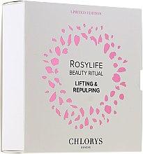 Парфюмерия и Козметика Комплект за лице - Chlorys Rosylife Beauty Ritual (нощен крем/10ml+дневен крем/12ml+серум/10ml)