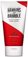 Парфюми, Парфюмерия, козметика Почистващ гел за лице - Hawkins & Brimble Elemi & Ginseng Face Wash