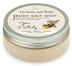 Парфюмерия и Козметика Солен мус за душ с аромат на тютюн и уиски - The Secret Soap Store Tobacco And Whiskey Body Salt Whip