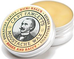 Парфюми, Парфюмерия, козметика Восък за мустаци - Captain Fawcett Ricki Hall Booze & Baccy Moustache Wax