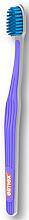 Парфюми, Парфюмерия, козметика Четка за зъби, супермека, лилава - Elmex Swiss Made Ultra Soft Toothbrush