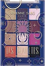 Парфюмерия и Козметика Палитра сенки за очи - Vivienne Sabo Les Planetes Eyeshadow Palette
