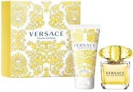 Парфюми, Парфюмерия, козметика Versace Yellow Diamond - Комплект(edt 30ml + b/lot 50ml)