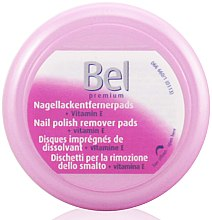 Парфюмерия и Козметика Мокри тампони за премахване на лак за нокти - Bel Premium Wet Nail Polish Remover Pads