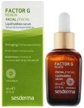 Парфюми, Парфюмерия, козметика Серум за лице против стареене с липозоми - SesDerma Laboratories Factor G Lipid Bubbles Facial Serum