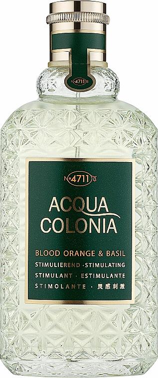 Maurer & Wirtz 4711 Acqua Colonia Blood Orange & Basil - Одеколони