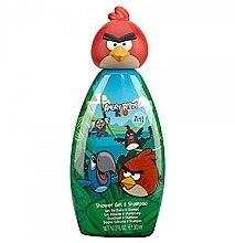 Парфюмерия и Козметика Шампоан и гел душ 2 в 1 - Angry Birds Rio 3D Red Shower Gel & Shampoo
