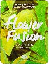 Парфюмерия и Козметика Омекотяваща маска за лице с екстракт от жасмин - Origins Flower Fusion Jasmine Softening Sheet Mask