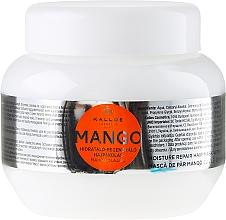 """Парфюмерия и Козметика Маска за коса """"Манго"""" - Kallos Cosmetics Mango"""