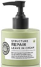 Парфюмерия и Козметика Моделиращ крем за коса - Maria Nila Structure Repair Leave In Cream