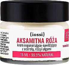 """Парфюмерия и Козметика Възстановяващ крем за лице """"Кадифена роза"""" - Iossi Regenerating Cream (мини)"""