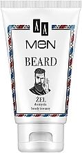 Парфюмерия и Козметика Гел за измиване на брада и лице - AA Men Beard Face Gel
