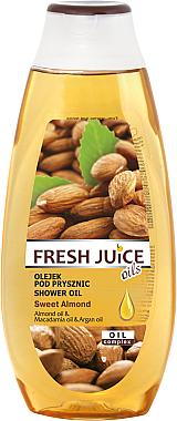 Душ масло с екстракт от сладък бадем - Fresh Juice Shower Oil Sweet Almond