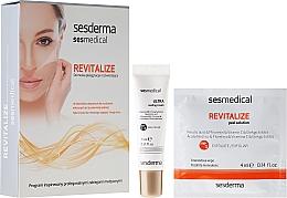 Парфюмерия и Козметика Изсветляваща пилинг-програма за лице - Sesderma Sesmedical Revitalize Personal Peeling Program (крем/15ml + кърпички/4x4ml)