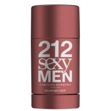 Парфюми, Парфюмерия, козметика Carolina Herrera 212 Sexy Men - Стик дезодорант