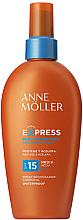 Парфюми, Парфюмерия, козметика Слънцезащитен спрей за бърз тен - Anne Moller Express Sunscreen Body Spray SPF15