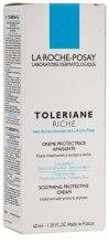 Парфюми, Парфюмерия, козметика Успокояващ и хидратиращ защитен крем - La Roche-Posay Toleriane Riche Soothing Protective Cream