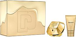 Парфюми, Парфюмерия, козметика Paco Rabanne Lady Million - Комплект (парф. вода/50ml + лос. за тяло/75ml)