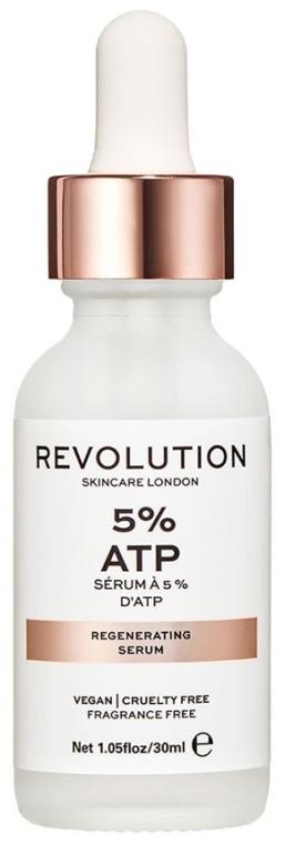 Възстановяващ серум за лице - Makeup Revolution Skincare 5% ATP Serum — снимка N1