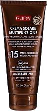 Парфюмерия и Козметика Хидратиращ слънцезащитен крем SPF 15 - Pupa Multifunction Sunscreen Cream
