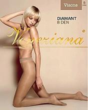 """Парфюмерия и Козметика Дамски чорапогащник """"Diamant"""", 8 Den, Visone - Veneziana"""