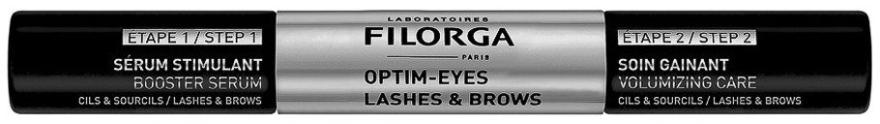 Укрепващ серум за мигли и вежди - Filorga Optim-Eyes Lashes & Brows