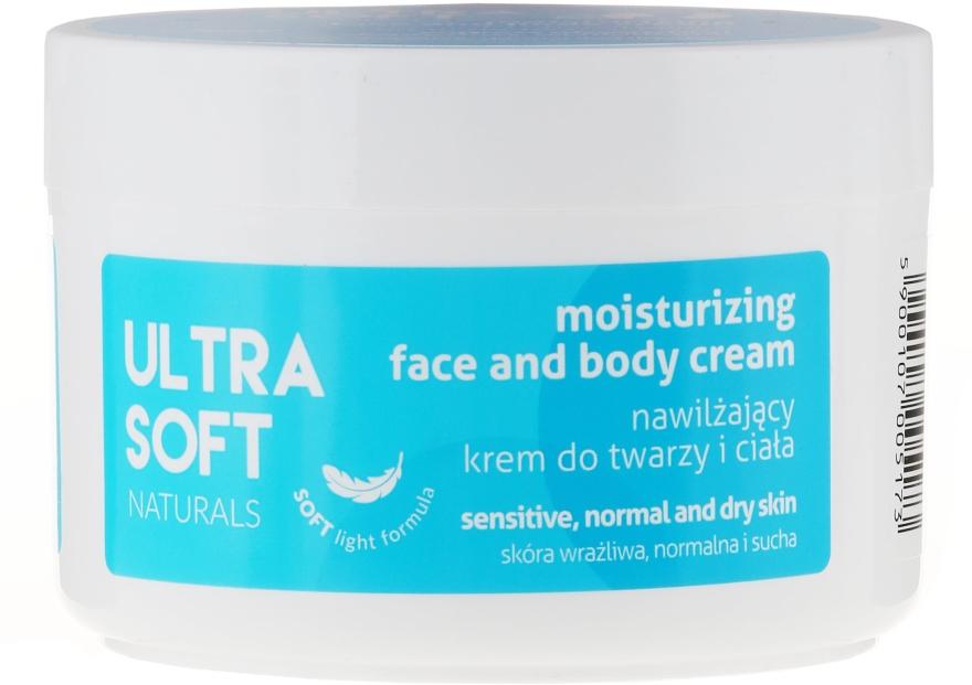 Овлажняващ крем за лице и тяло - Tolpa Ultra Soft Naturals Moisturising Face and Body Cream