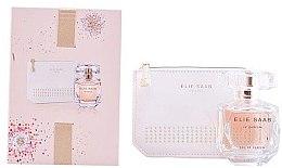 Парфюмерия и Козметика Elie Saab Le Parfum - Комплект (парф. вода/50ml + козм. чанта)