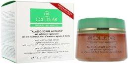 Парфюмерия и Козметика Възстановяващ солен скраб за тяло против стареене - Collistar Speciale Corpo Perfetto Regenerating Exfoliating Salts Anti-Age Talasso-Scrub